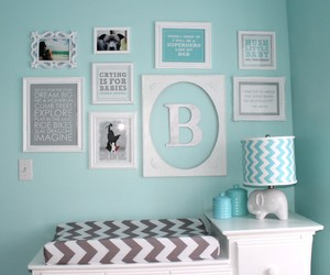 apartment, baby room, and decor image