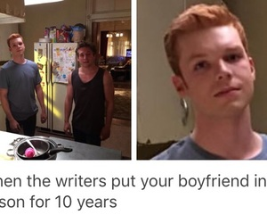 shameless, ian gallagher, and funny image
