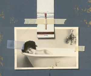 art, Collage, and adam vinson image