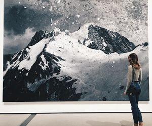 mountains, art, and tuula vintage image