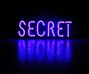 secret, neon, and purple image