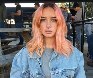 35 Images About Orange And Pink Hair On We Heart It See
