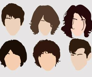 alex turner, hair, and arctic monkeys image