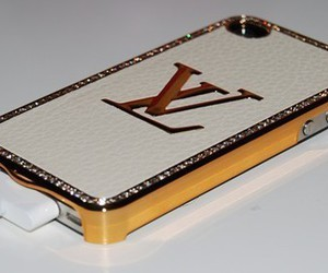 iphone, Louis Vuitton, and LV image