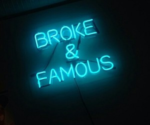 blue, famous, and neon image