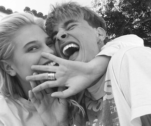 kian lawley, meredith mickelson, and couple image