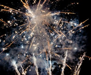 fireworks and new year image