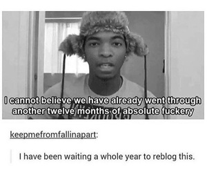funny, tumblr, and kingsley image