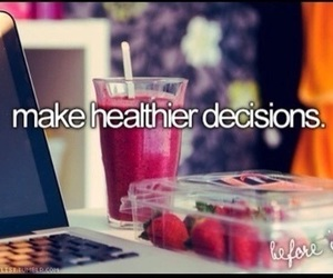 healthy, fitness, and decisions image