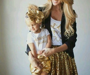 daughter and gold image