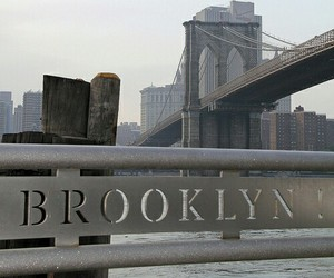 Brooklyn, city, and new york image