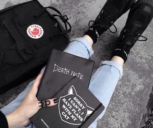 black, alternative, and backpack image