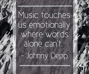 music, johnny depp, and quotes image