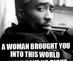 woman, tupac, and quotes image