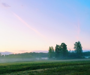 blue, color, and morning image