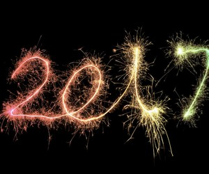fireworks, new year, and happiness image