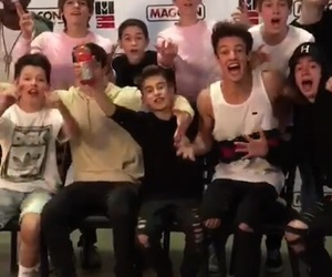 cameron dallas, magcon, and johnny orlando image