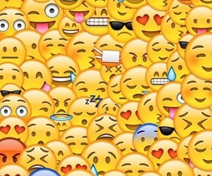 background, emoji, and wallpaper image
