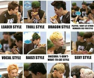 exo, funny, and exo memes image