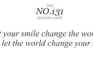 quote, lady, and smile image