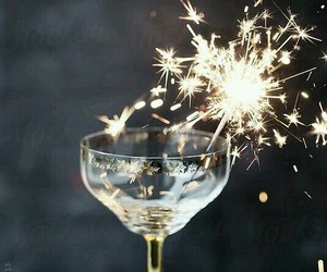 cheers, happy new year, and new year image