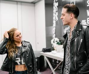 g-eazy, rhonda rousey, and ufc fights image