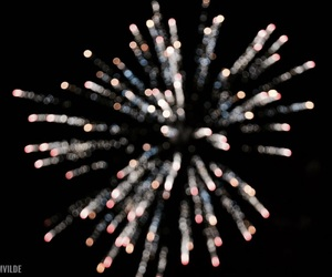 bokeh, feed, and fireworks image