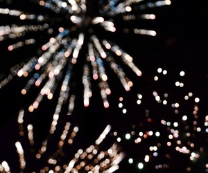 fireworks, new year, and 2018 image