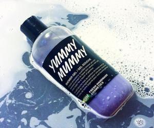 bath, mummy, and purple image