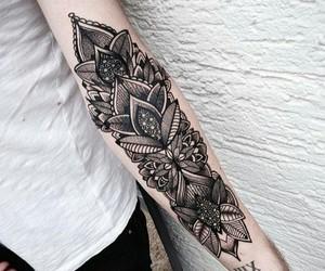 tattoo, art, and arm image