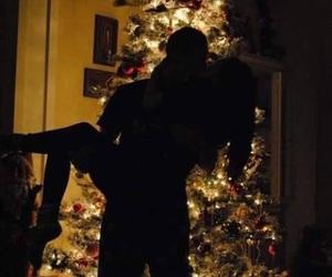 love, christmas, and couple image