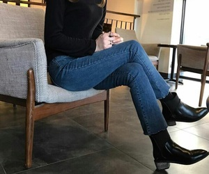 aesthetic, outfit, and casual image