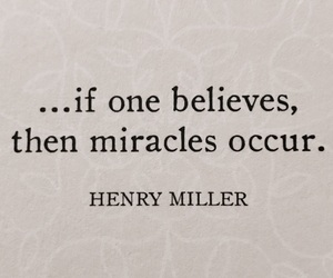 quote, words, and miracle image
