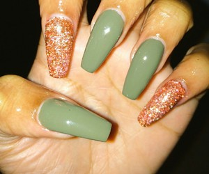 nails, girl, and luxury image