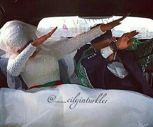 marriage, dab, and couple image