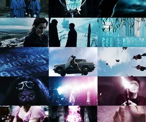 blue, harrypotter, and hp image