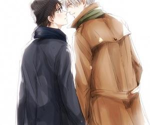 yuri on ice, viktor nikiforov, and katsuki yuuri image