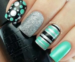 nails, new, and nailart image