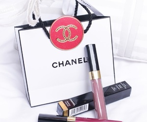 chanel, lifestyle, and lipgloss image