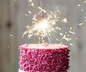 birthday, happy birthday, and cake image