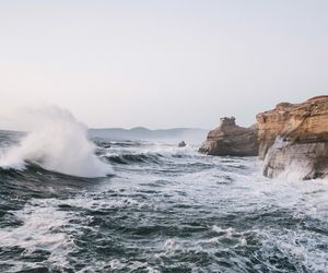 sea, nature, and water image