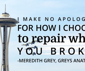 easel, greys anatomy, and quotes image