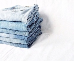 blue, jeans, and tumblr image
