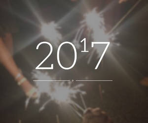hello, new year, and 2017 image