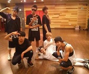 k-pop, dance practice, and kpop idols image
