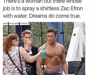 zac efron, funny, and model image