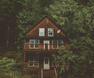 brown, home, and nature image