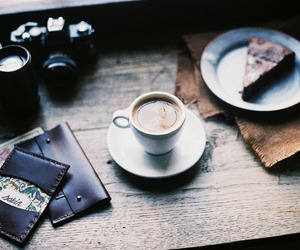 coffee, cake, and delicious image