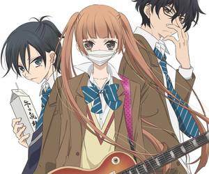 anime, fukumenkei noise, and music image
