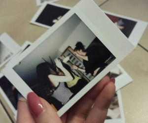 drunk, party, and polaroids image